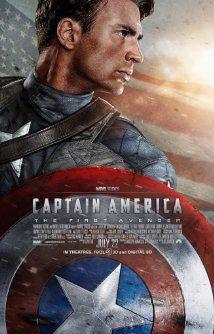 Captain America The First Avenger 2011 Poster Filme Os Vingadores Capitao America Poster Capitao America