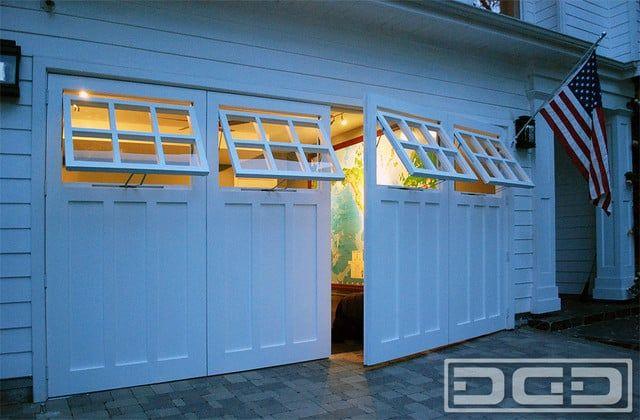 Dynamic Garage Door Santa Ana Ca United States Real Swing Out Carriage Garage Doors Custom Garage Doors Garage Door Windows