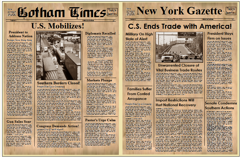 Old Timey Newspaper Templates Free  Google Search