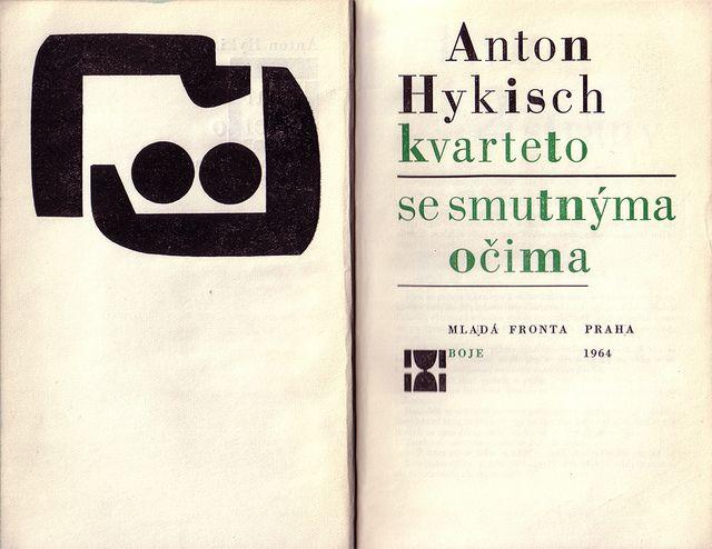 Czechoslovak title page (1964)  Graphic design, cover and binding Jiří Rathouský