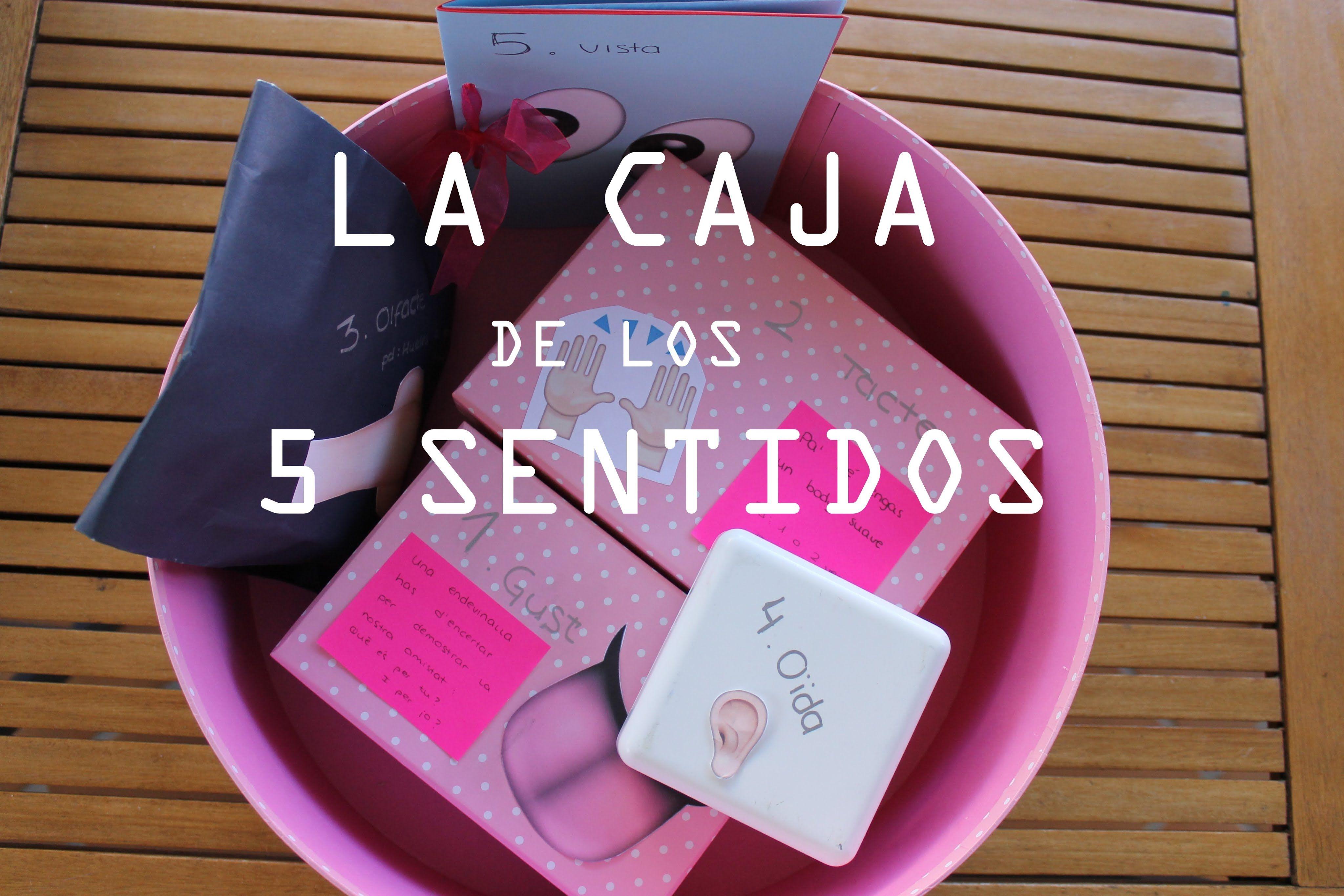 La caja de los 5 sentidos!! Regalo original para una persona