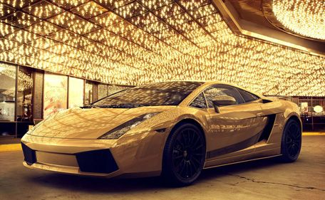 Lamborghini Dubai Gold   Google Search