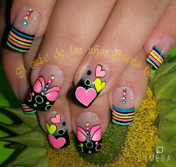 Uñas Decoradas | Imágenes | Pinterest | Manicure, Pedicures and Nail ...