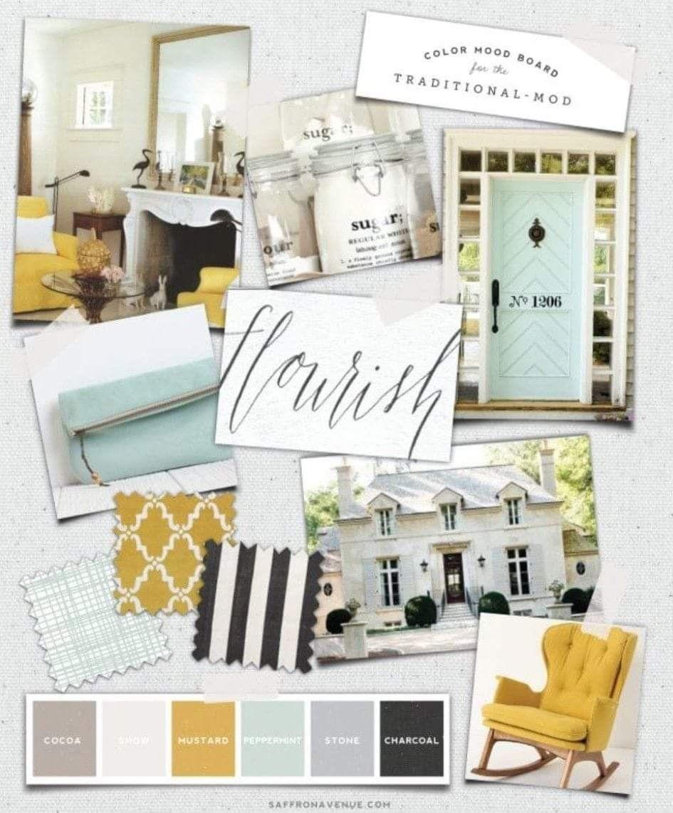 16e22b2efe67 House Colors, Room Colors, Interior Design Boards, Interior Design  Portfolios, Interior Design
