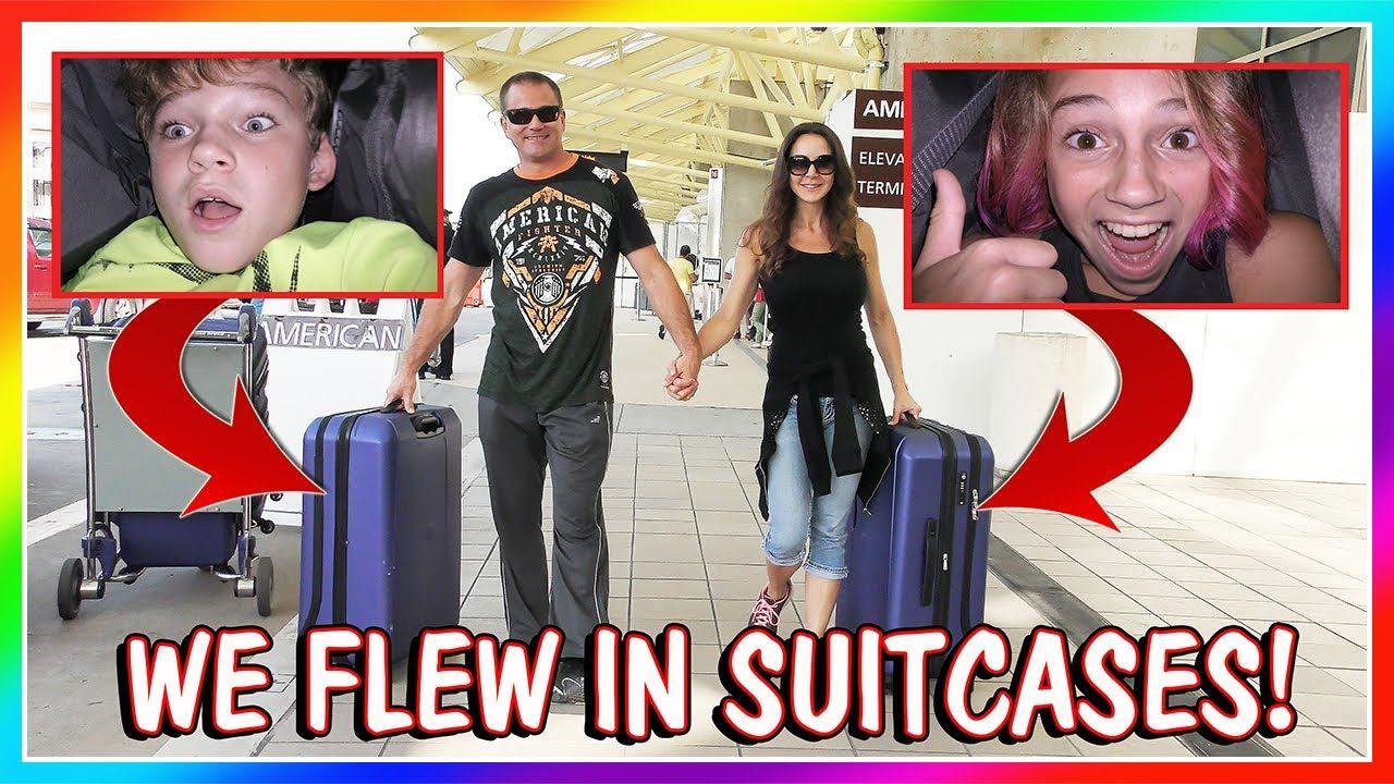 We Flew To Ca In Suitcases We Are The Davises Skits Davis Youtube