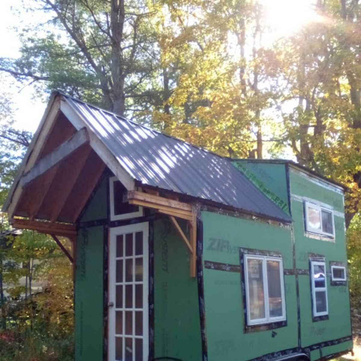 16' Shell Tiny House - Tiny House Shell for Sale in ...