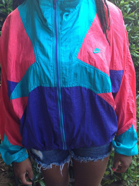 94f91a3023ca Vintage Nike Windbreaker Jacket by HighwayToVintage on Etsy More