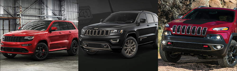 Newest Jeep Cherokee And Grand Cherokee Trims New Jeep Cherokee Jeep Cherokee Jeep