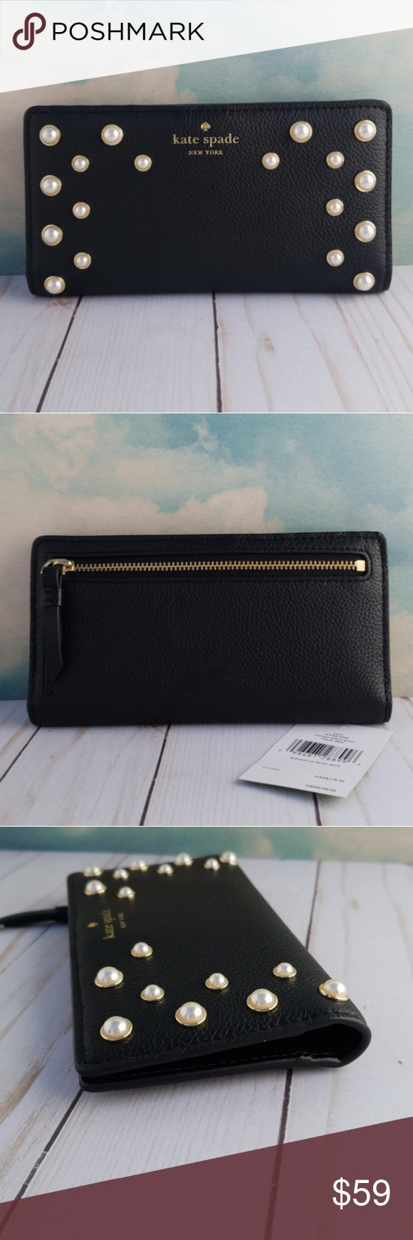 9b831842d13e kate spade Serrano Place Pearl Stacy Wallet kate spade New York ...