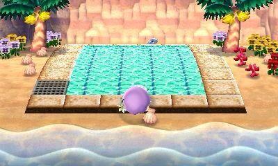 Beach Pool Ideas Animal Crossing Qr Codes Animal Crossing Acnl