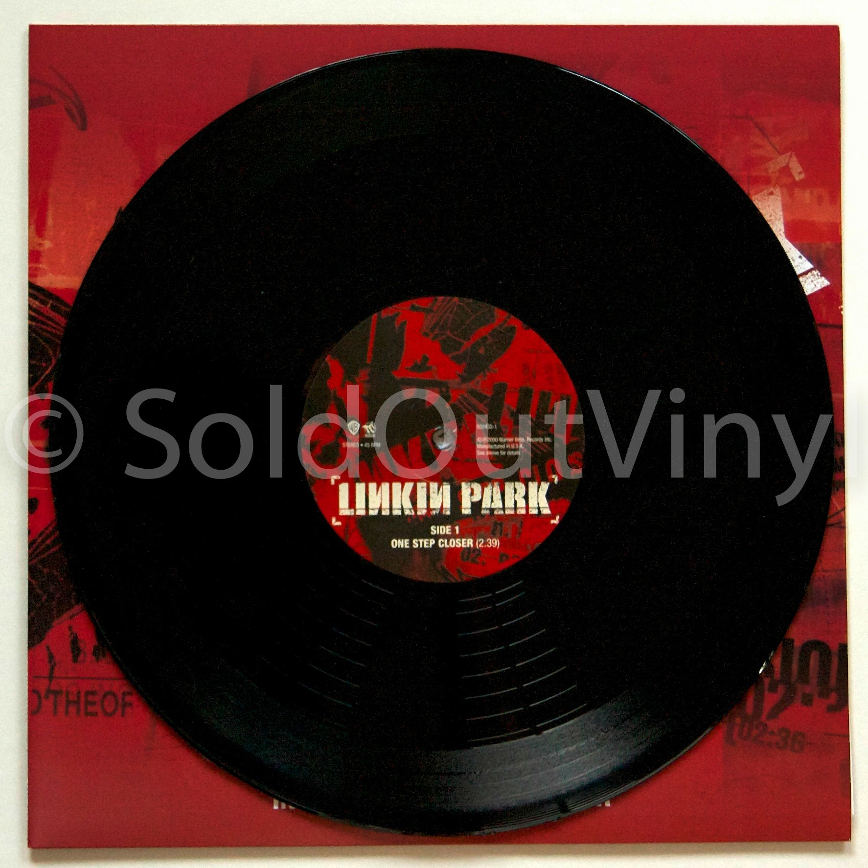 Linkin Park One Step Closer 10 Inch Vinyl Rsd Soldoutvinyl Linkin Park Vinyl Records For Sale
