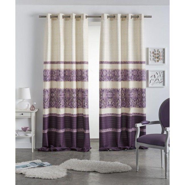 Cortina ollaos amber dise o moderno informal y colorido - Ollaos para cortinas ...