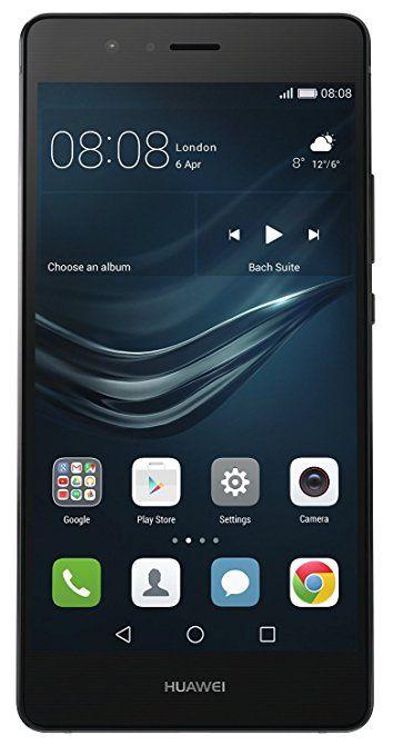 Huawei P9 Lite Smartphone, LTE, Display 5.2'' FHD, Processore Octa-Core Kirin 650, 16 GB Memoria Interna, 3GB RAM, Fotocamera 13 MP, Single-SIM, Android 6.0 Marshmallow, Nero [Italia]