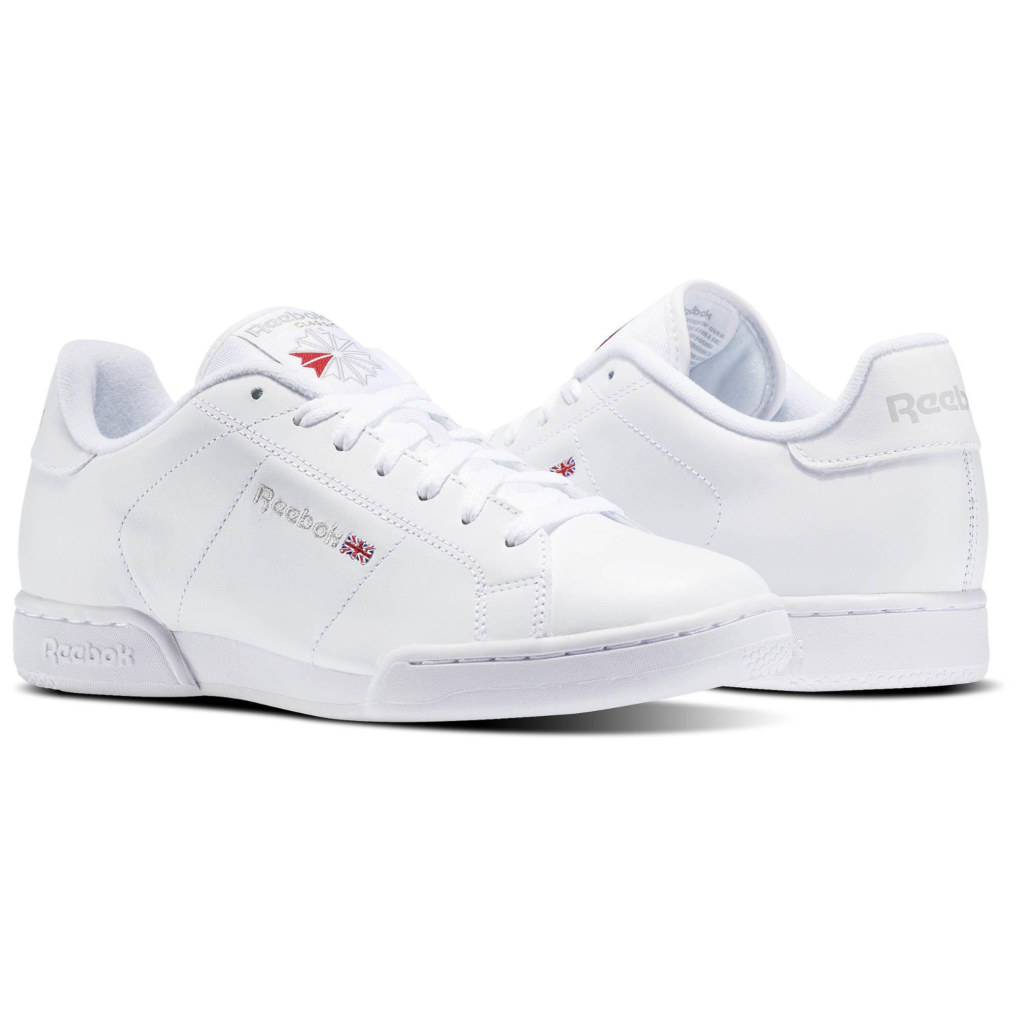 Puntuación Mirar atrás Disipación  Reebok NPC II Men's Shoes - White | Reebok US | Reebok npc ii, White reebok,  Men's shoes