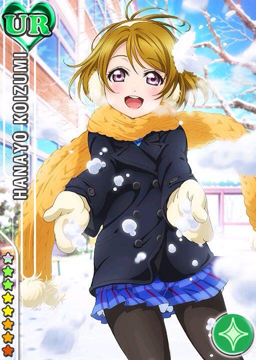 Edredon Anime.Love Live School Idol Festival Koizumi Hanayo Hanayo