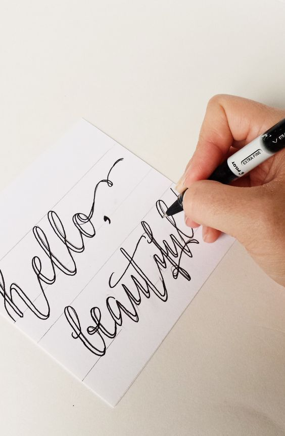 how to use calligraphy dip pen