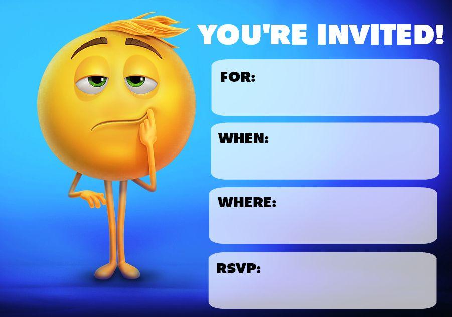 Emoji Movie Party Supplies