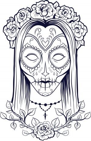 Pin by April Ordoyne on Skulls /Sugar skulls | Pinterest | Adult ...