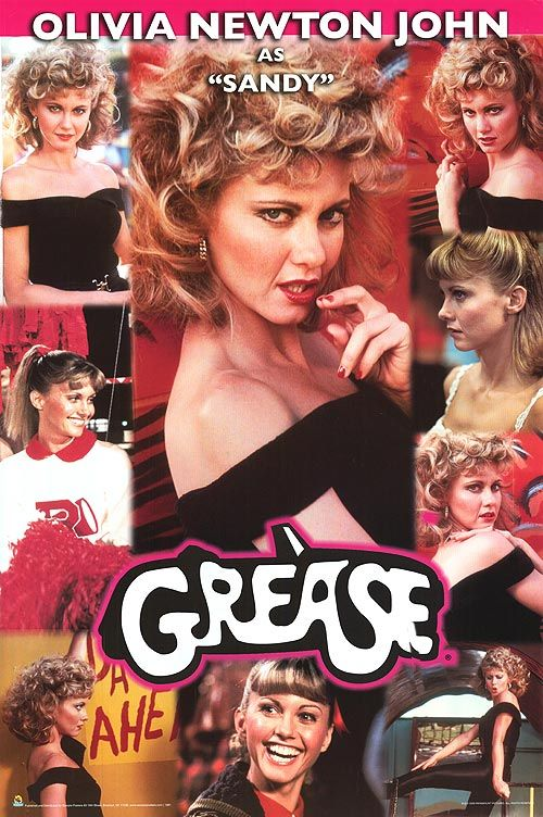 Grease Movie Posters At Movie Poster Warehouse Movieposter Com Grease Movie Sandy Grease Olivia Newton John