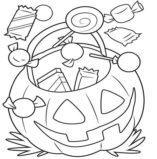 Раскраски - тыквы на Хэллоуин | Феи раскраска, Книжка ...