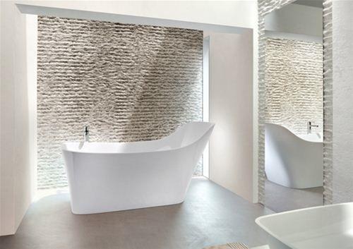 landelijke badkamers, inloopdouche, vrijstaand bad | AYURYOGA ...