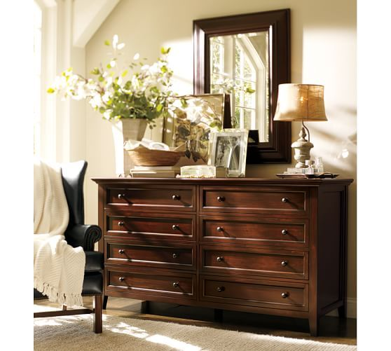 Hudson Extra Wide Dresser Pottery Barn Dresser Decor Bedroom