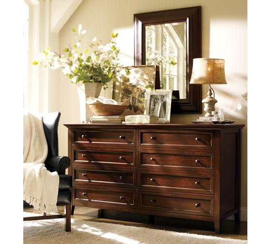 Hudson Extra Wide Dresser Pottery Barn Dresser Decor Bedroom