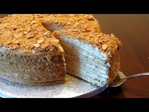 торт черепаха рецепт этого торта в моей семье перелается