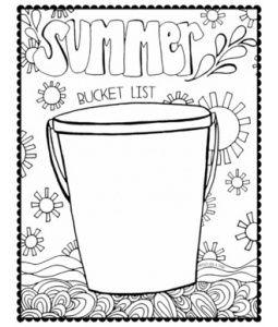 Free Printable Summer Bucket List Summer Bucket List Printable