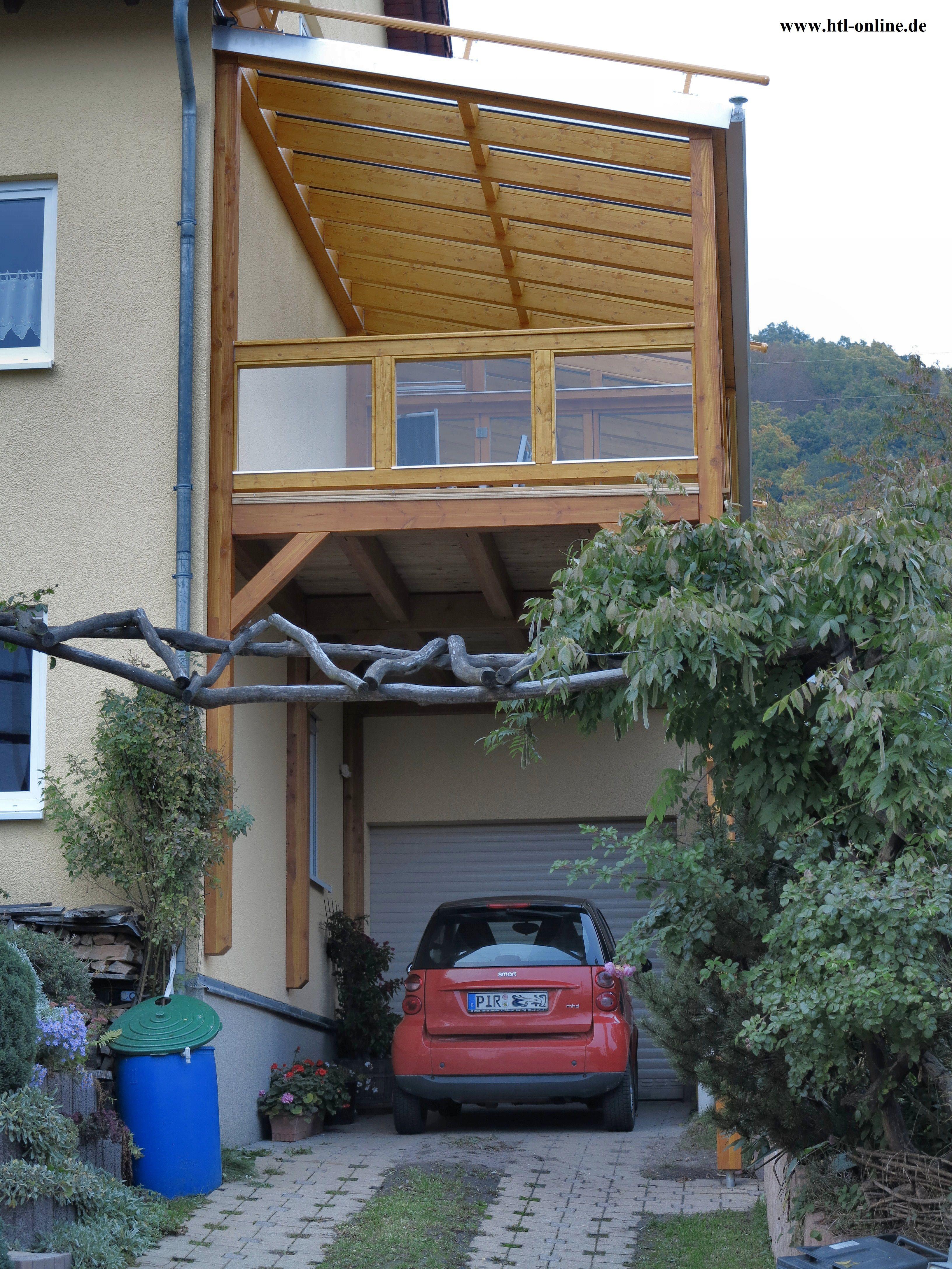 Balkon aus Holz HTL Holztechnik Holz Arbeit mit Holz