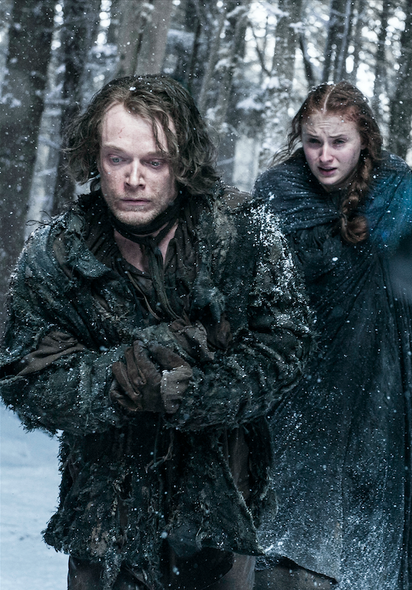Here Are Some Unseen Stills From Game Of Thrones Season 6 Game Of Thrones Theon Sansa Stark Winter Is Coming