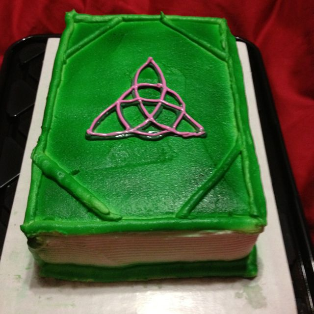 Charmed Book Of Shadows Cake Charmed Pinterest Birthday