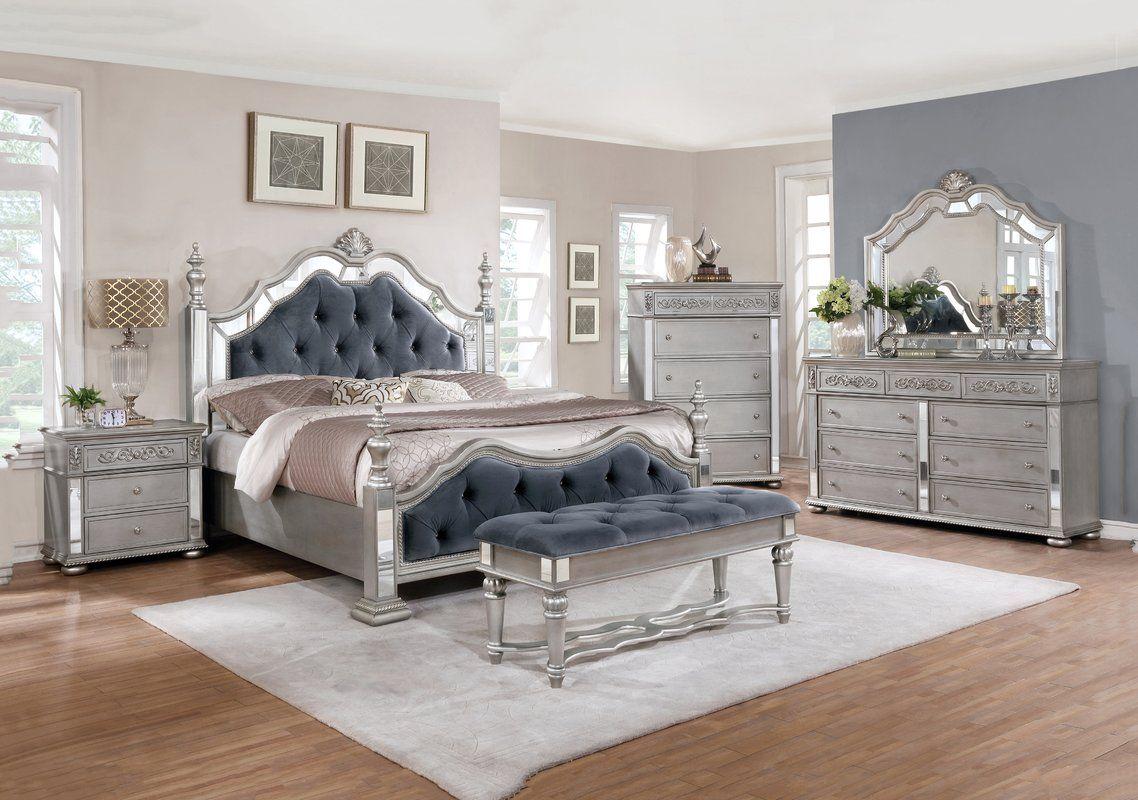 Kenton Standard 5 Piece Bedroom Set Bedroom Set Bedroom Sets Bedroom Furniture Sets