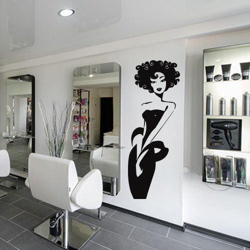 Hair Salon Wall Decor wall decal vinyl art decor sticker design stylist master hair