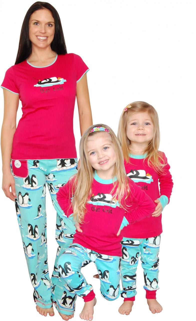 1e8547aa8f1 Matching Pajamas Perfect for Family Reunions Bridal Parties ...