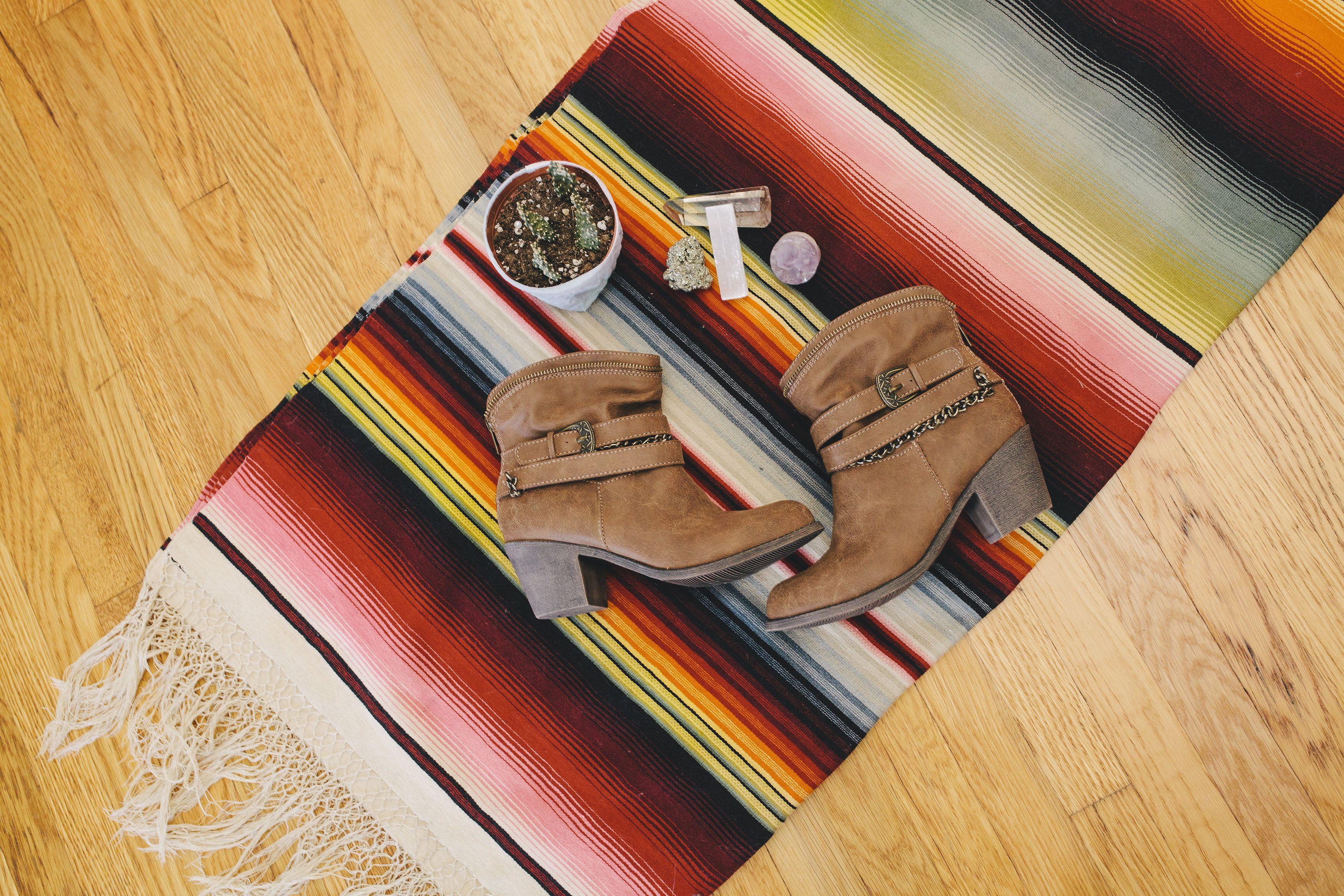 Desert nights: The Delaney boot