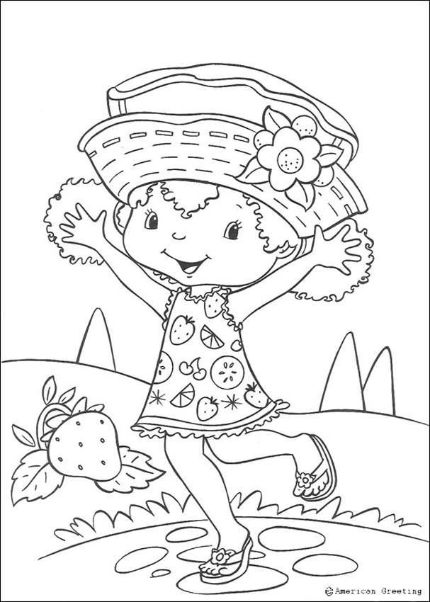 Coloring pages,digi stamps. | strawberry shortcake | Pinterest ...