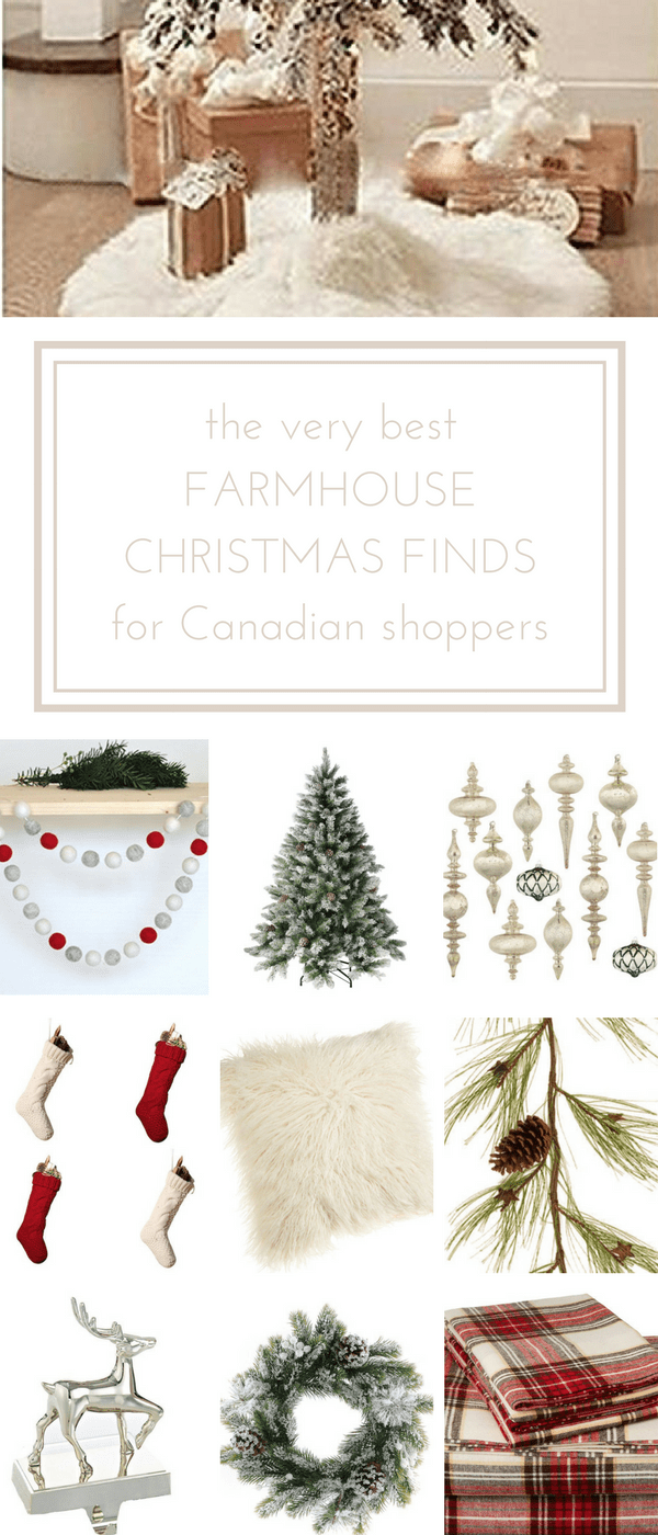 The Very Best Farmhouse Christmas Finds on Amazon.ca | Craft, Craft ...
