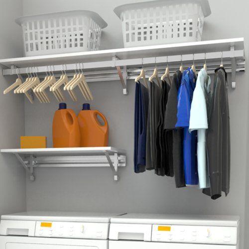Arrange A Space Heavy Duty Laundry Room Organizer In 2020 Laundry Room Storage Shelves Laundry Room Design Room Storage Diy