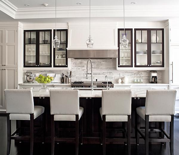 lot central cuisine ikea et autres l 39 espace de cuisson kitchens black white. Black Bedroom Furniture Sets. Home Design Ideas