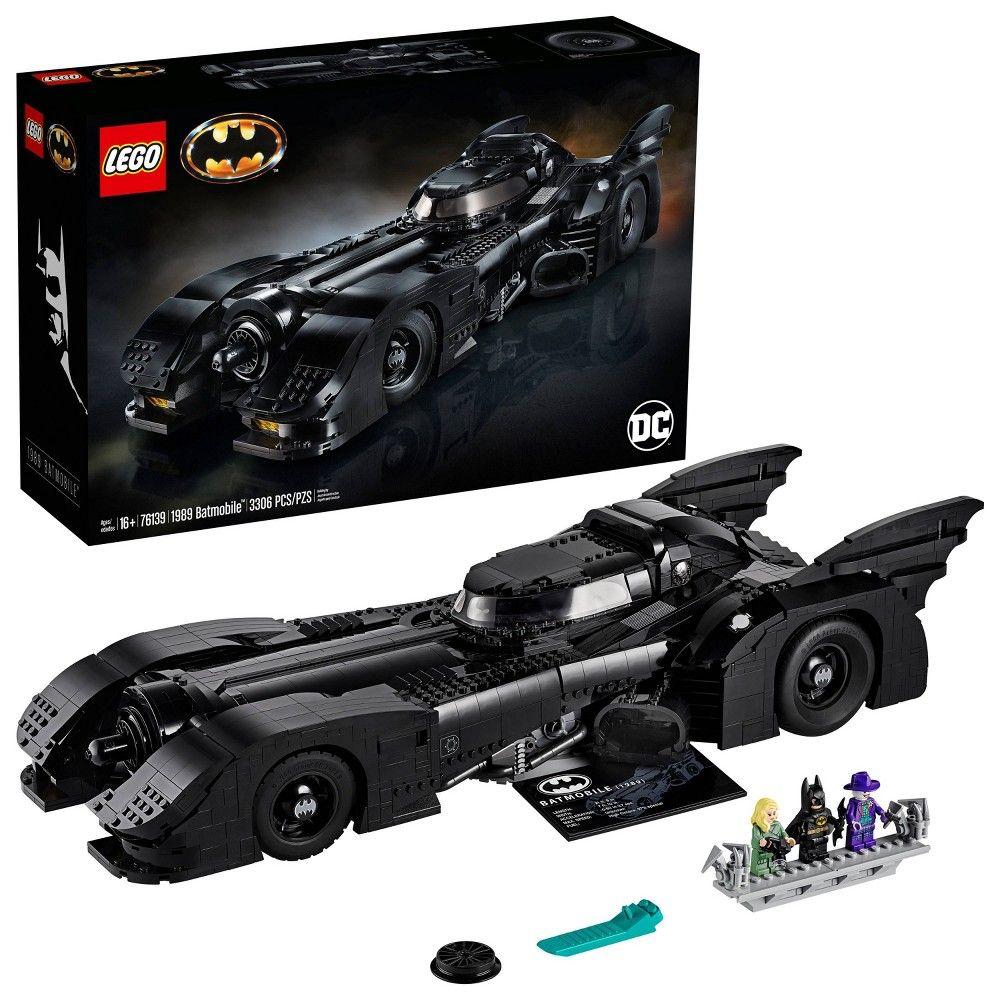 LEGO DC Batman 1989 Batmobile Building Kit 76139 in 2020