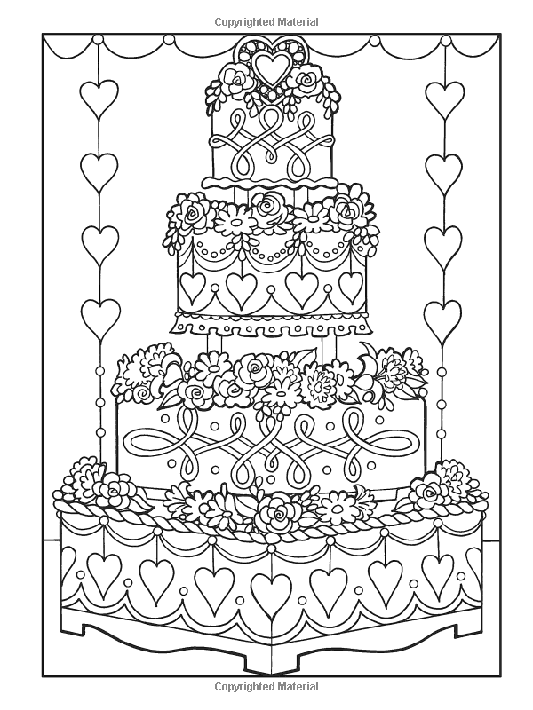 Creative Haven Designer Desserts Coloring Book Creative