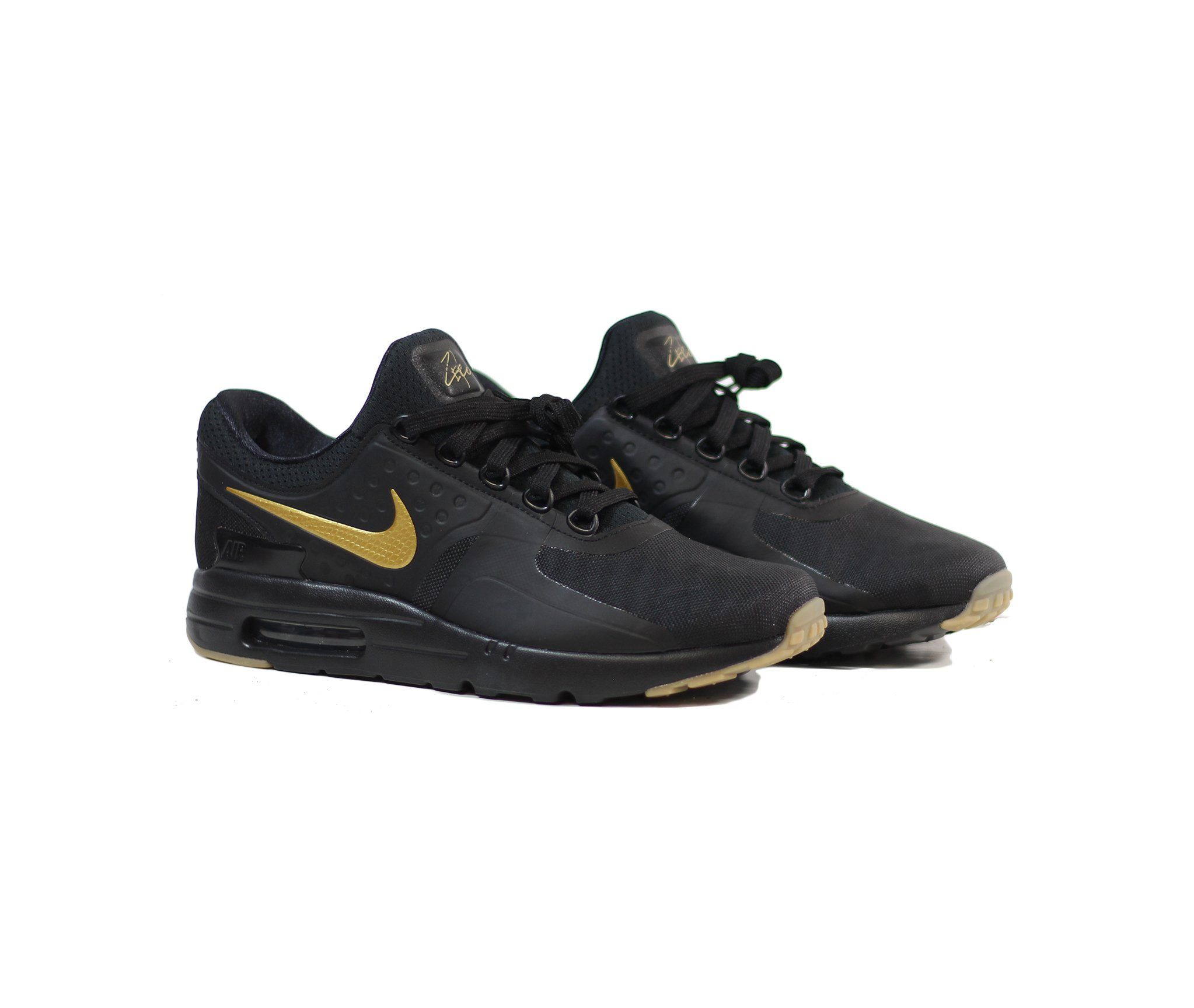 cbb6cbe689b19 NIKE Air Max Zero Essential - Black/Metallic Gold | Products | Nike ...