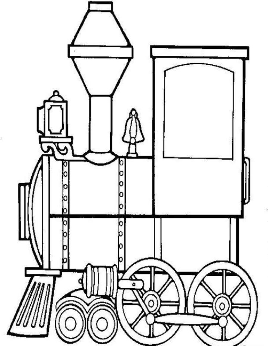 Trains Free Printable Coloring Pages No 20 Coloringplus Com Train Coloring Pages Coloring Pages Train Drawing