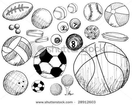 What A Cute Idea Take Your Children S Sports Drawings And Turn Into Special Charms Art Handouts Ball Drawing Art Worksheets