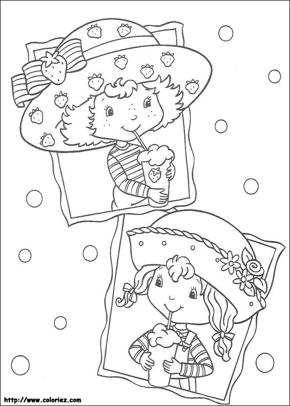 Strawberry Shortcake Friends | kp Strawberry Shortcake | Pinterest ...