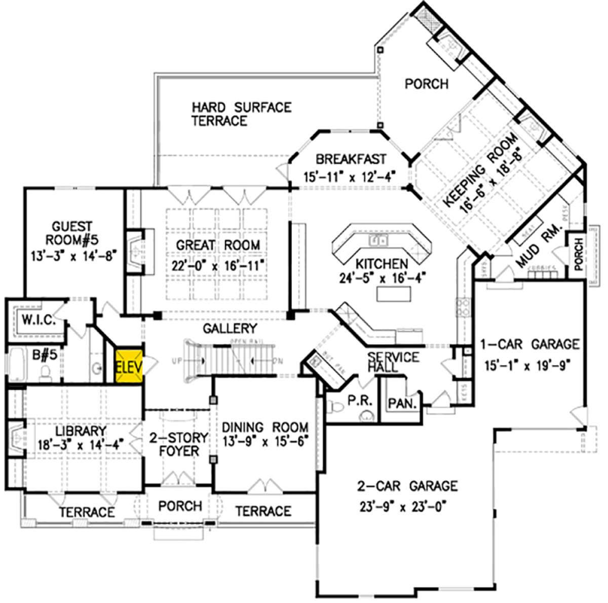 House Plan 699 00097 Luxury Plan 5 855 Square Feet 5 Bedrooms 5 5 Bathrooms Remodel Bedroom Small Bedroom Remodel Kids Bedroom Remodel