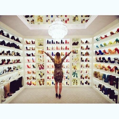 i would want a large walk in closet