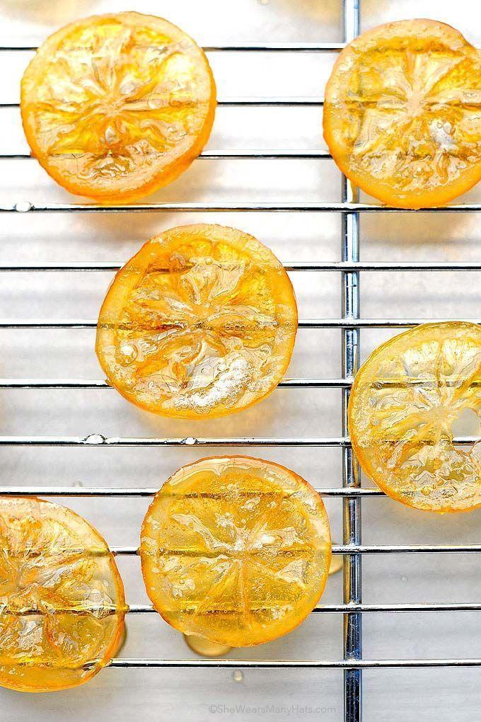 Candied Meyer Lemon Recipe | She Wears Many Hats