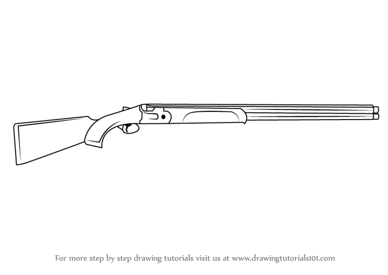 Pix Pump Action Shotgun Drawings Pump Shotgun Drawings
